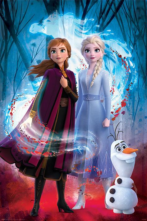 Frozen 2 - Guiding Spirit Плакат
