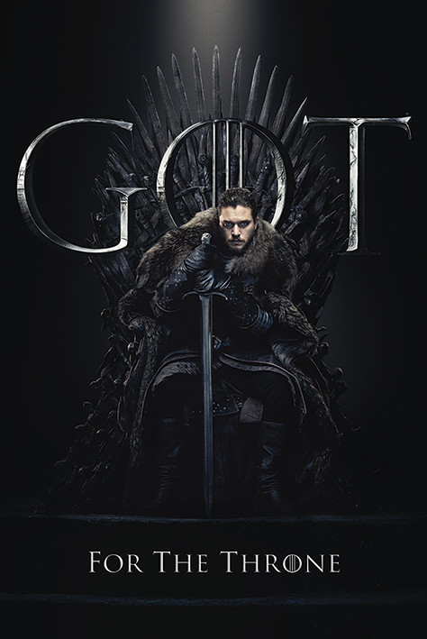 Game Of Thrones - Jon For The Throne Плакат