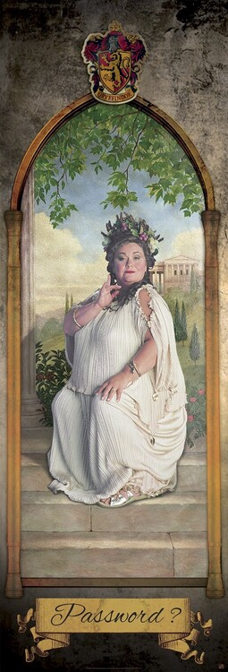 Harry Potter - The Fat Lady Плакат