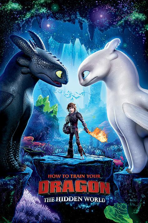 How To Train Your Dragon 3 - One Sheet Плакат