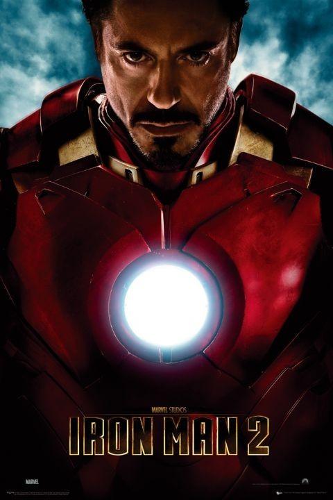IRON MAN 2 - tony stark Плакат