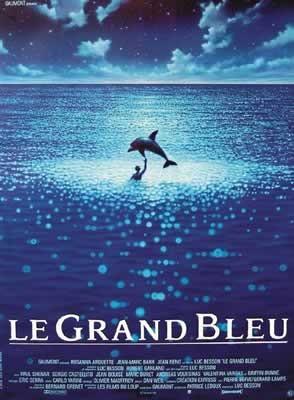 LE GRAND BLEU Плакат