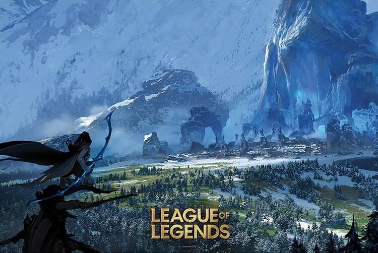 League of Legends - Freljord Плакат