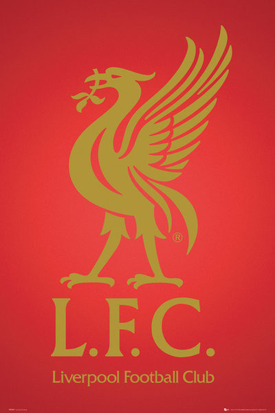 Liverpool - club crest 2013 Плакат