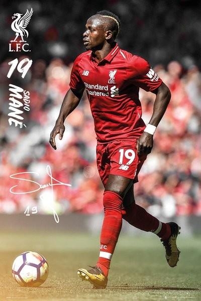 Liverpool - Mane 18-19 Плакат
