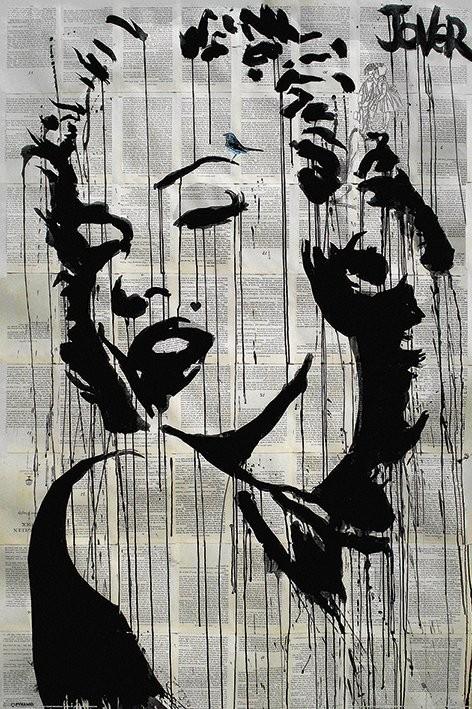 Loui Jover - Icon Плакат