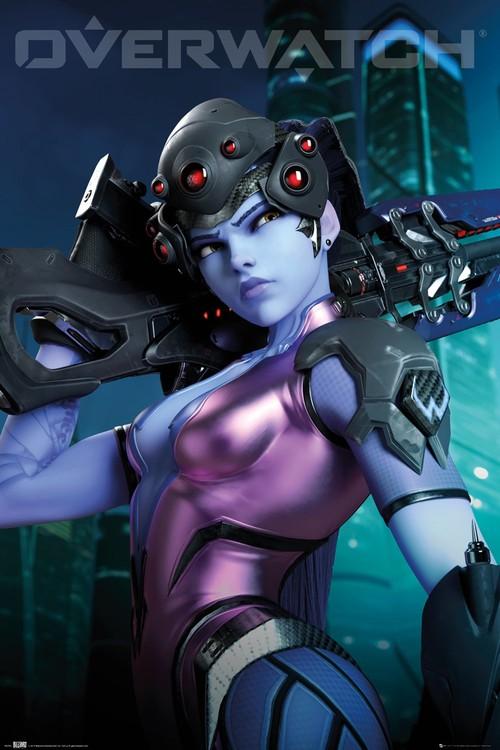 Overwatch - Widow Maker Плакат