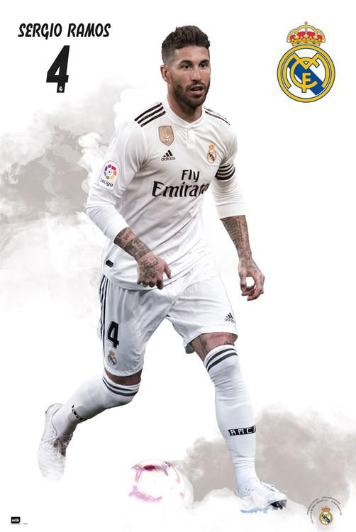 Real Madrid 2018/2019 - Sergio Ramos Плакат