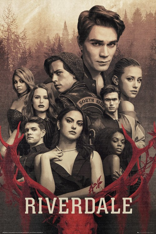 Riverdale - Season 3 Key Art Плакат