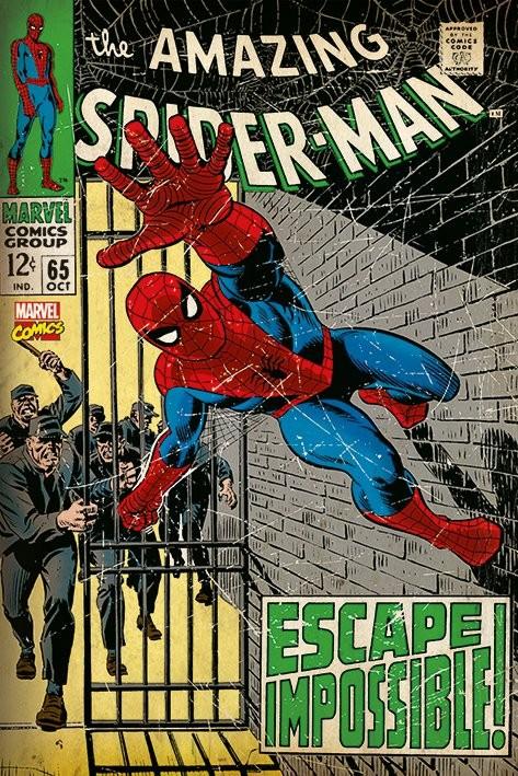 Spiderman - Escape Impossible Плакат