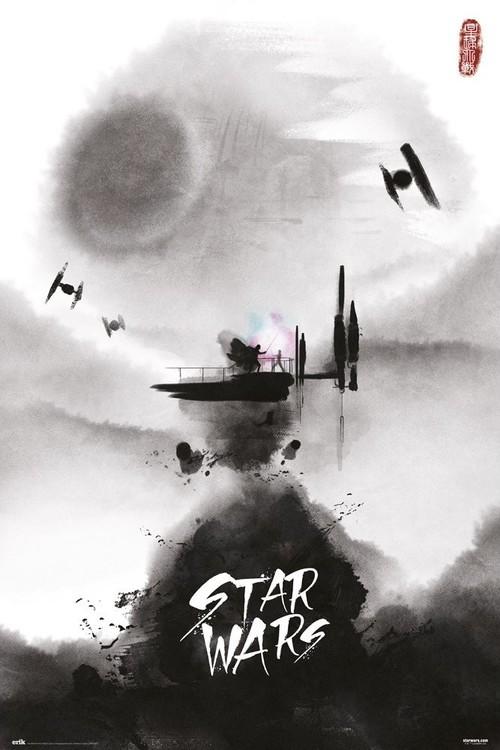 Star Wars - Ink Плакат