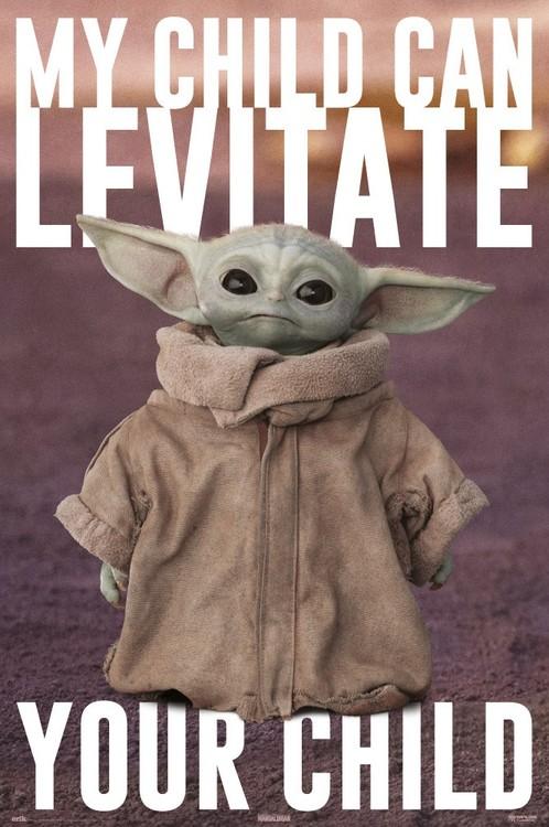 Star Wars: The Mandalorian - Baby Yoda Плакат