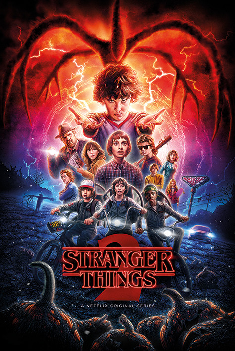 Stranger Things - One-Sheet Season 2 Плакат