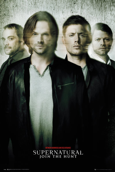 Supernatural - Blur Плакат