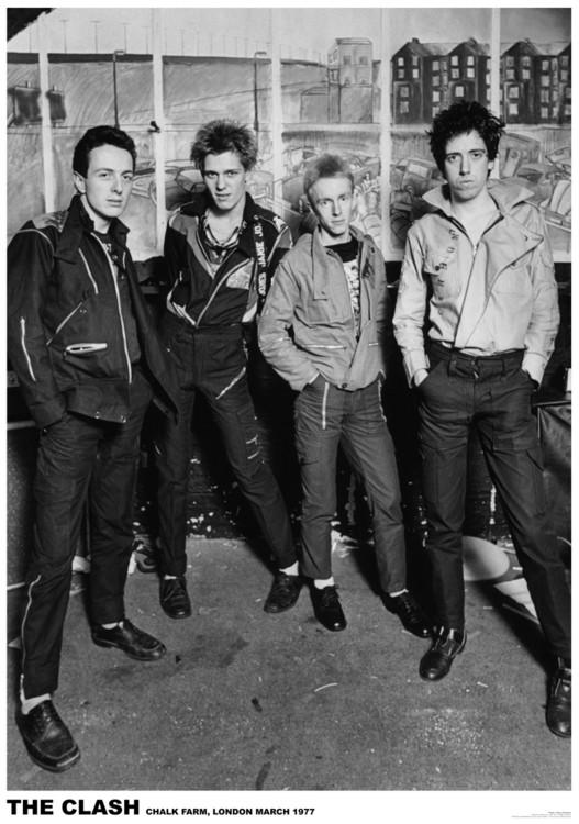 The Clash - London 1977 Плакат