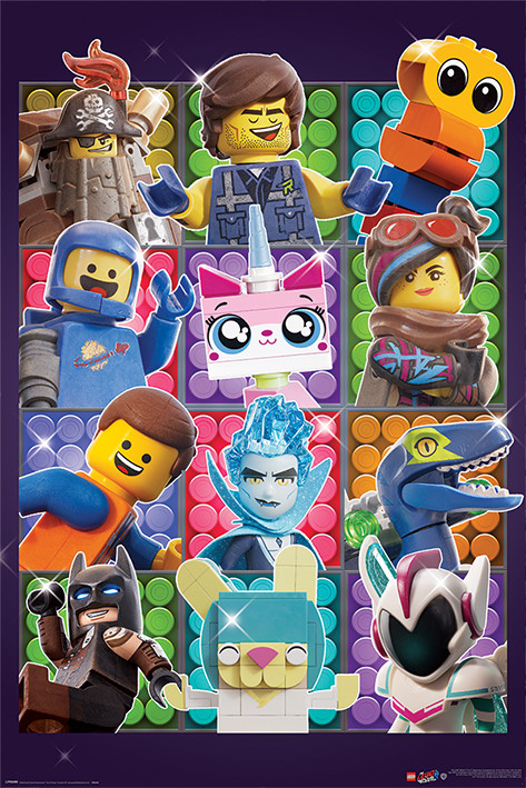 The Lego Movie 2 - Some Assembly Required Плакат