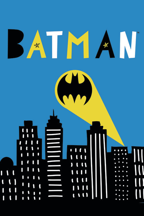 Batman - Light signal фототапет