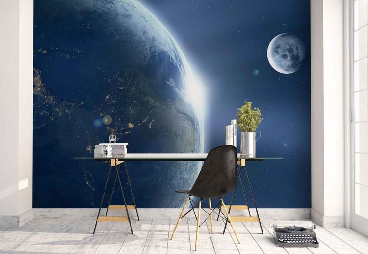 Earth And Moon фототапет