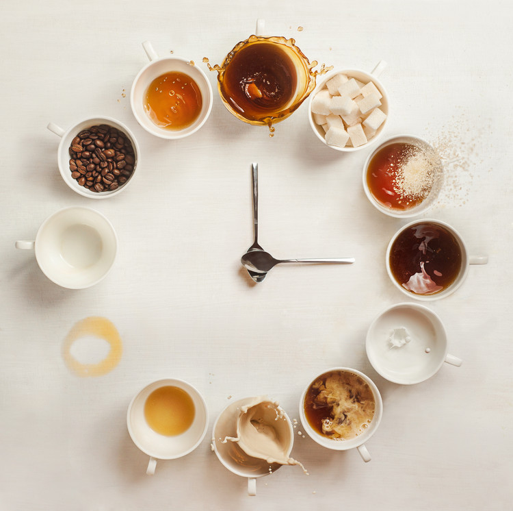 It's Always Coffee Time фототапет