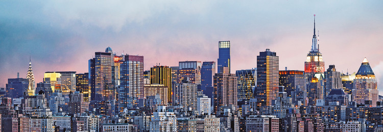 NEW YORK SKYLINE Фото-тапети
