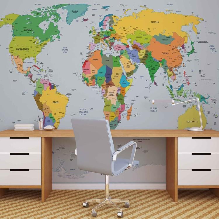 World Map фототапет