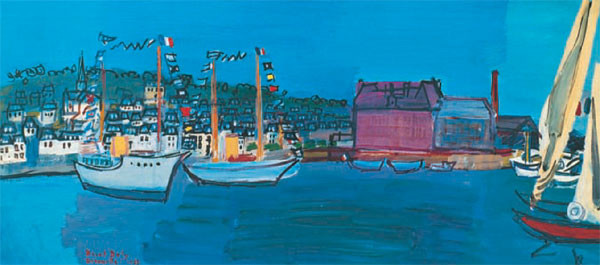 14.července 1933 v Deauville - 14 July 1933 in Deauville Художествено Изкуство