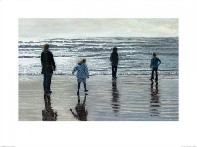 Andrew McNeile Jones - Testing The Waves Художествено Изкуство
