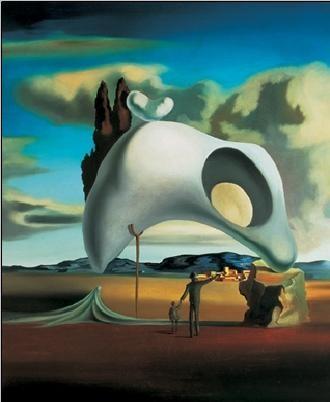 Atavistic Vestiges after the Rain, 1934 Художествено Изкуство