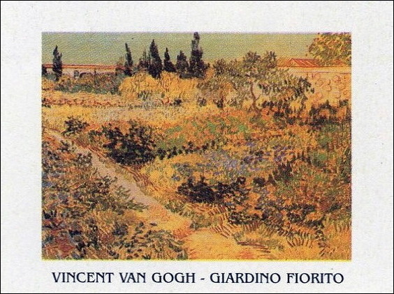 Flowering Garden with Path, 1888 Художествено Изкуство