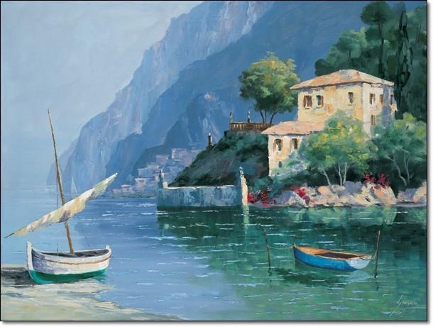 Gianola - Paesaggio VI Художествено Изкуство