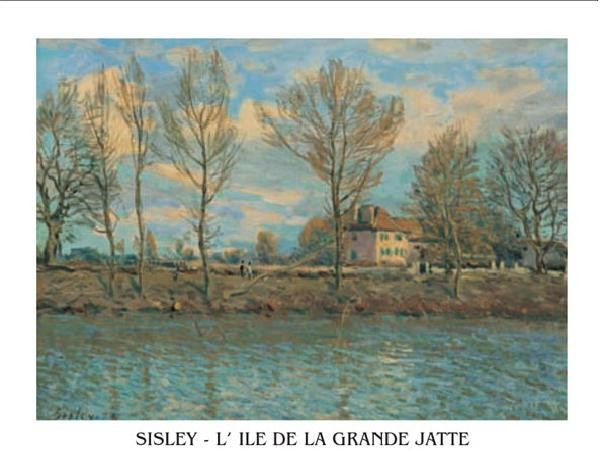 Island of La Grande Jatte Художествено Изкуство