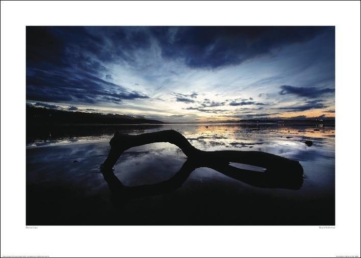 Marina Cano - Beach Reflection Художествено Изкуство