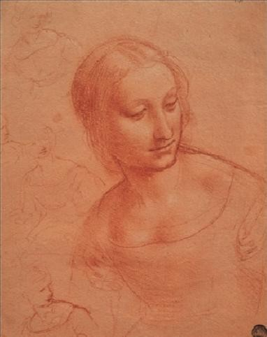 Portrait of a Young Woman - Busto di giovane donna Художествено Изкуство