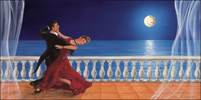 Romantic dancer Художествено Изкуство