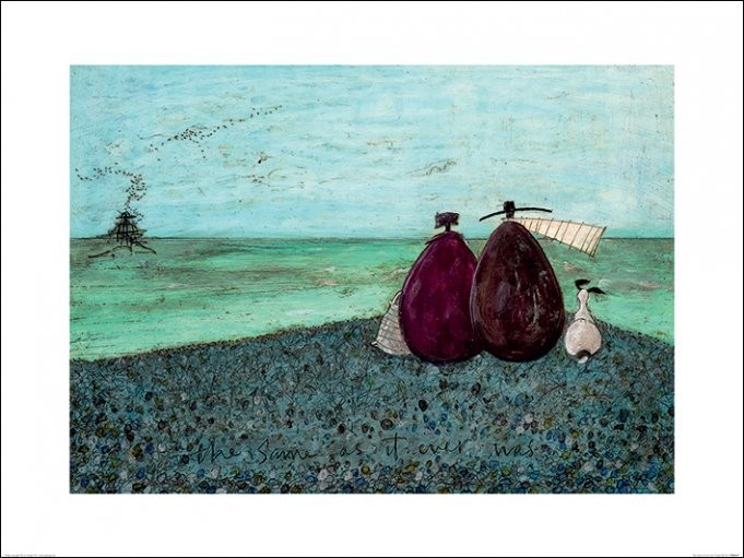 Sam Toft - The Same as it Ever Was Художествено Изкуство