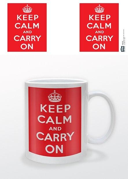 IWM - Keep Calm and Carry On Чаши