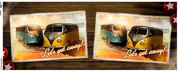 VW Camper - Lets Get Away Чаши