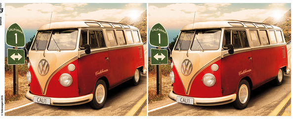 VW Camper - Route One Чаши