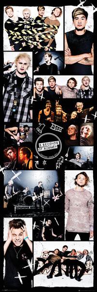 5 Seconds Of Summer - Grid 2 плакат