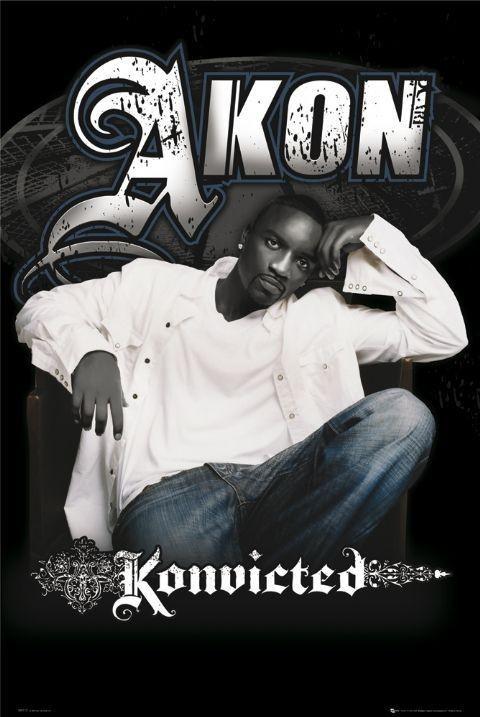 Akon - konvicted плакат