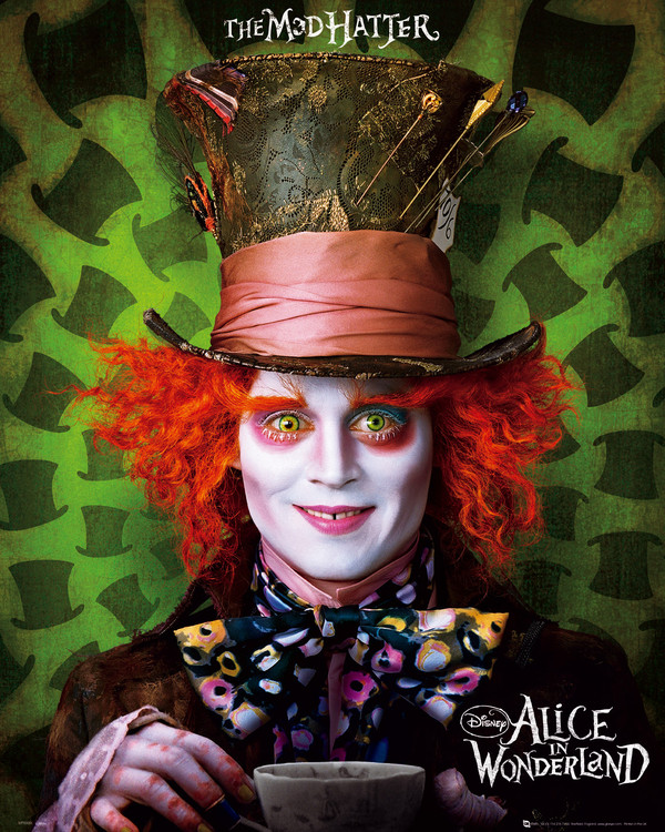ALICE IN WONDERLAND  плакат