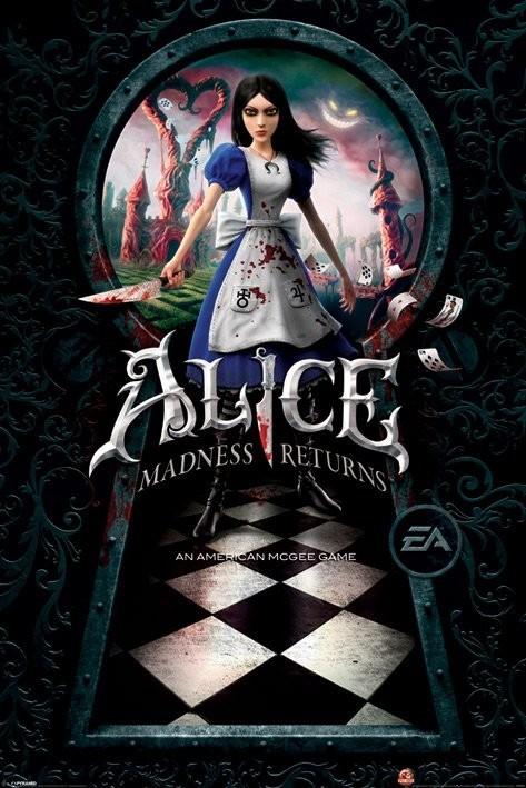 Alice - madness returns  - плакат