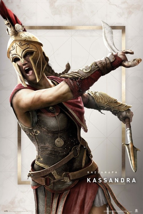 Assassin's Creed: Odyssey - Kassandra плакат