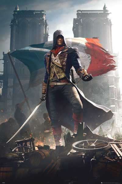 Assassin's Creed Unity - Arno плакат