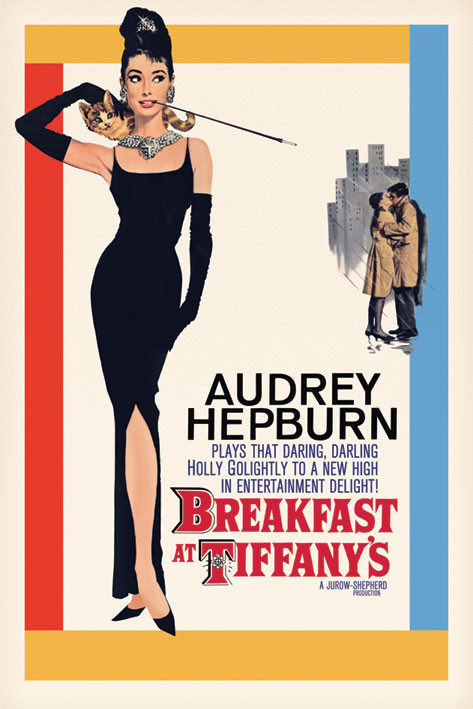 AUDREY HEPBURN - one sheet - плакат