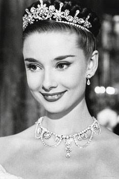 Audrey Hepburn - roman holiday - плакат