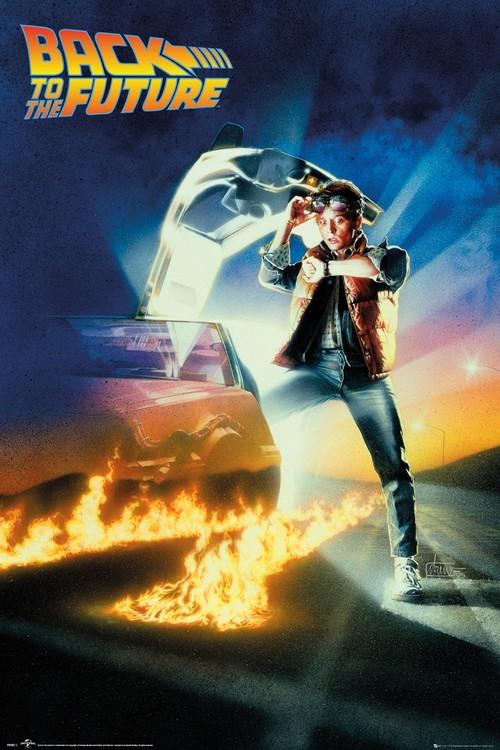 Back To The Future - Key Art плакат