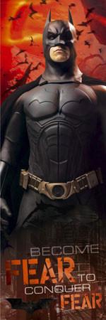 BATMAN BEGINS - fear - плакат