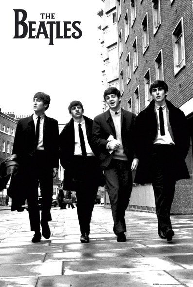 Beatles - in London плакат