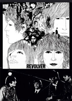 Beatles - revolver - плакат